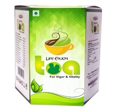 Life enjoy tea is made up of 100% natural and real herbs that contain beneficial nutrients and antio