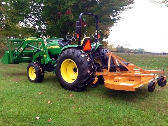 Jd Tractor Forks : John deere wd loader forks mower