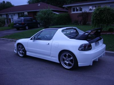 Honda Delsol 1995 ehite pearl and black with Type-R JDM