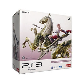 PlayStation 3 (250GB) FINAL FANTASY XIII LIGHTNING EDITION (CEJH-10008) Manufact