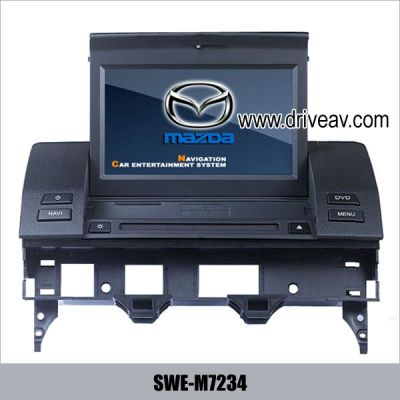 MAZDA 6(03-08 cars) Auto DVD stereo Player Bluetooth IPOD GPS TV  SWE-M7234